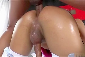 Drop dead gorgeous TS Britney Colucci fucked and cum blasted