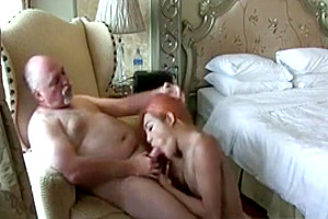 Redhead shemale pounding With A older man
