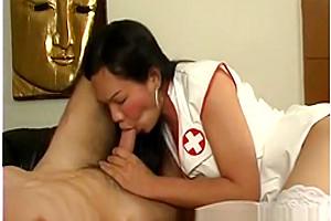 asian tranny Latex Nurses - Scene 1
