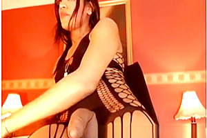 ladyboy Pumps sperm Out Of Her dick