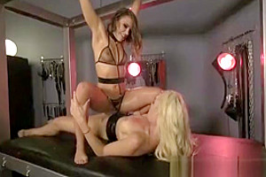 Tranny Destroys Dirty Squirting Queen!