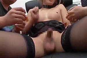 Hottest Japanese babe In Exotic oral-sex-job, threesome JAV movie