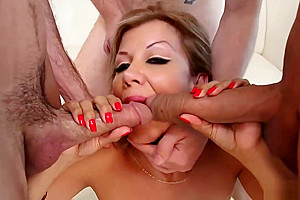 Naomi Chi Takes On All Of these dicks!