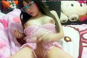 Teen hot latin shemale