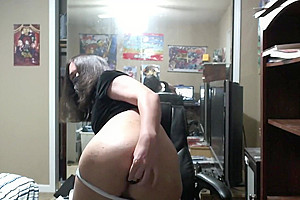 Femboy testing out toys for first time + Playing with bepis