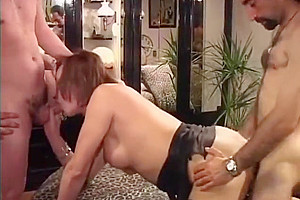 Italian Mature Transgender Threesome