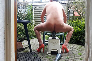 DGB - DIRTY GARDENBOY - TRANS PIGTAILS SISSY PRIVATE ANAL
