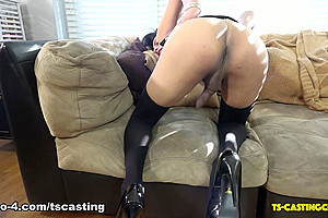 Lovely Elora Love - TS-Casting-Couch