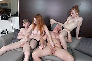 Redhead Foursome