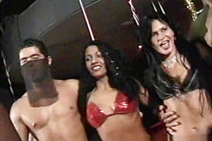 Hot party with transsexual divas