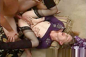 Passionate anal with titless milf shemale
