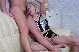 Slim cd in lingerie gets fucked by lover