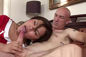 Asian ladyboy ass rimmed