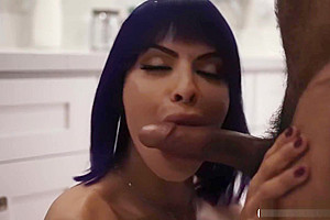 Plumber gets his ass fucked hard by Ts Foxxy