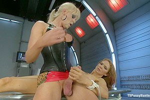 Sexy, Sexy, Sexiness: Rain DeGrey Cloned by Beautiful Ts Joanna Jet
