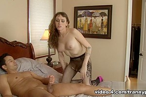 Gabriel D'Alessandro, Kylie Maria in Tranny Hoes In Pantyhose #02