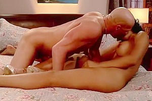Guy banging two mexican beauties