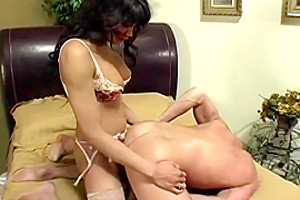 Tasty Shemale Yasmine Lee gets to Suck and Fuck a thick Cock
