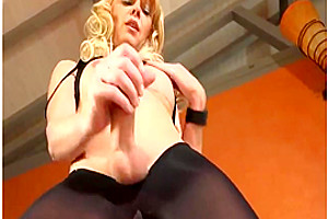 Joanna Jet Me and You 181 Dark Pantyhose 12 Feb 2016